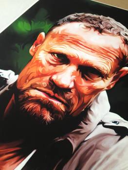 Pic of my Walking Dead print