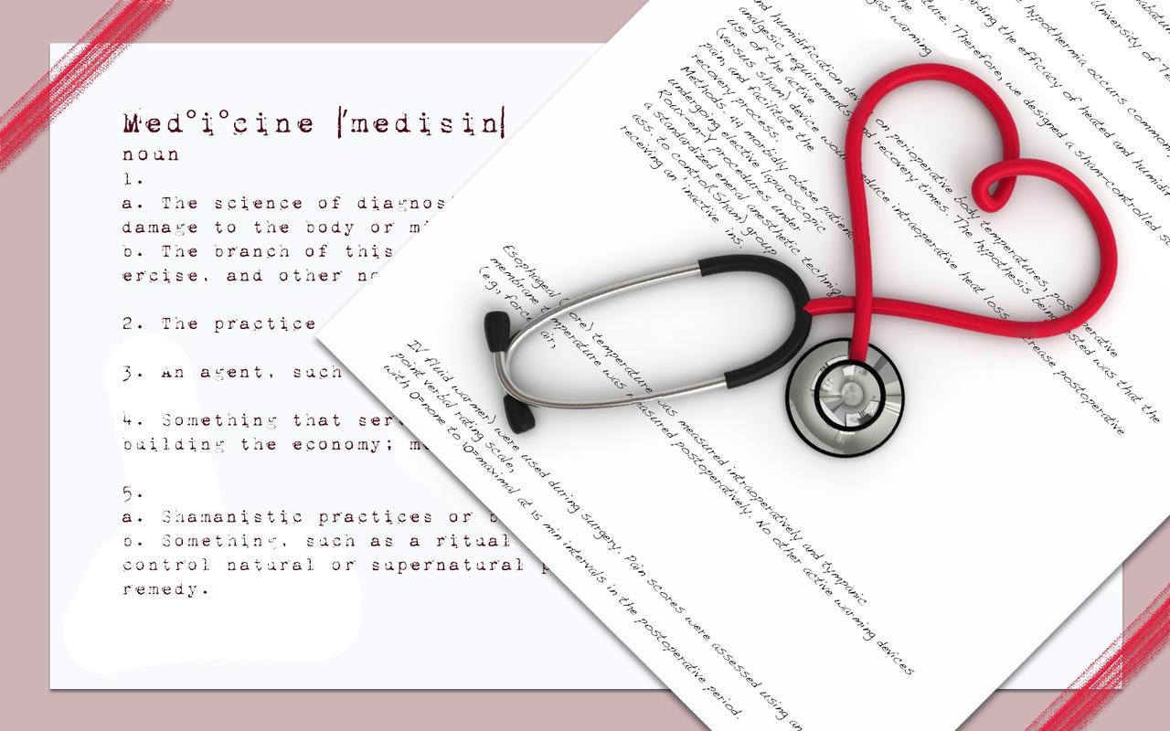 iMedicine Wallpaper by CrazyDoctor