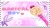 [F2U]MAGICAL BOY stamp by kaho11