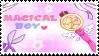 [F2U]MAGICAL BOY stamp by kaho11