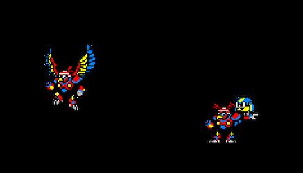 WBN-007 Parrot Man by anime86fan
