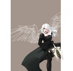 Angel of Hope by blackXXraine