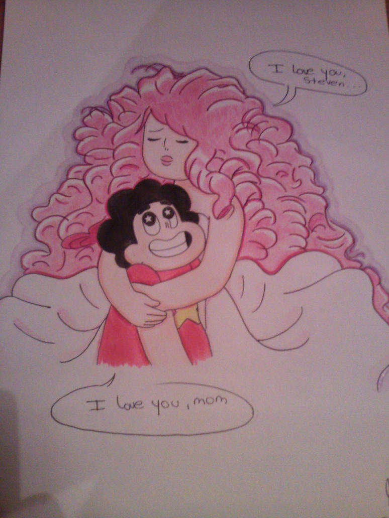 Rose Quartz y Steven Universe by LaWeaCuanticaRose Quartz Steven Universe