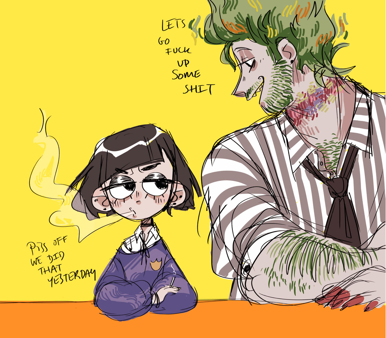 Beetlejuice And Lydia Musical By Scoooob On Deviantart