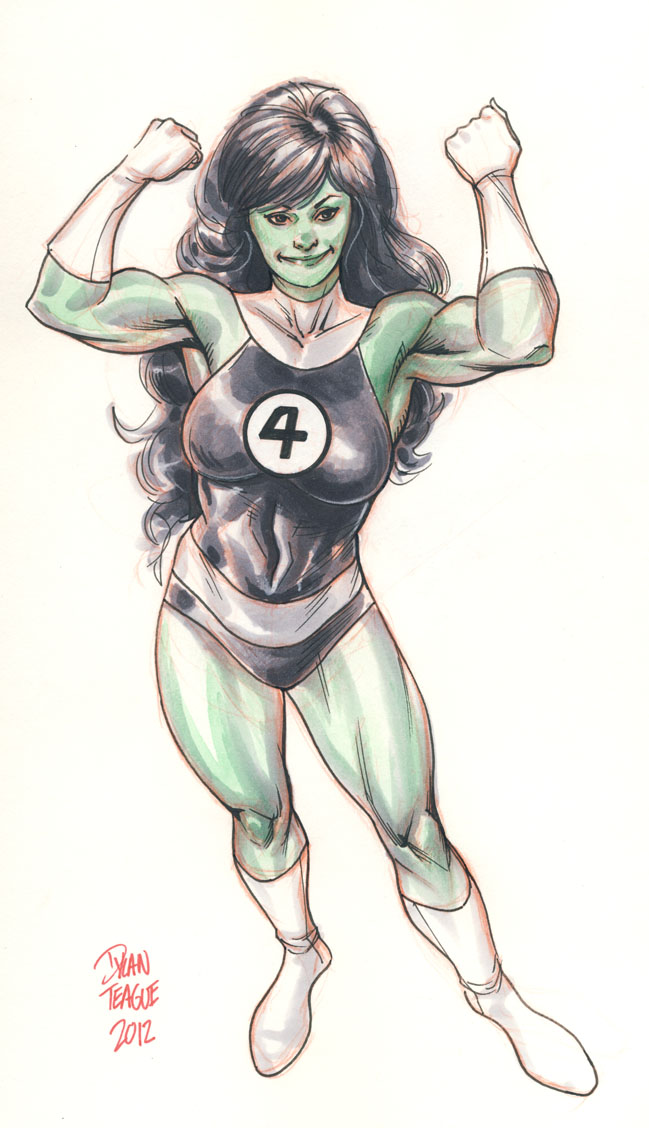 She Hulk by DylanTeague