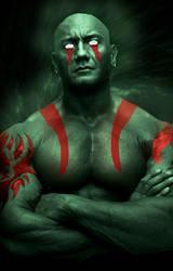 Drax the Destoryer fanart