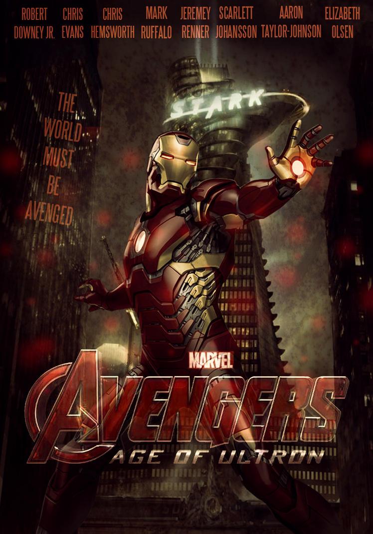 Avengers 2 Iron Man Po...
