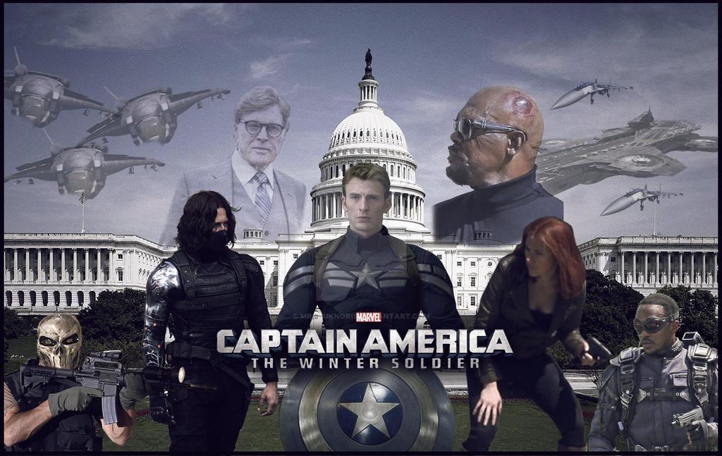 Captain America The Winter Soldier Wallpaper: Captain America: The Winter Soldier Wallpaper 2 By