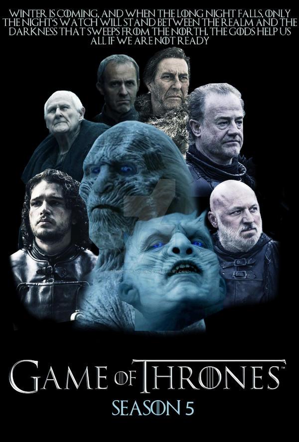 Game of Thrones Season 5 Poster by MrChukNoris
