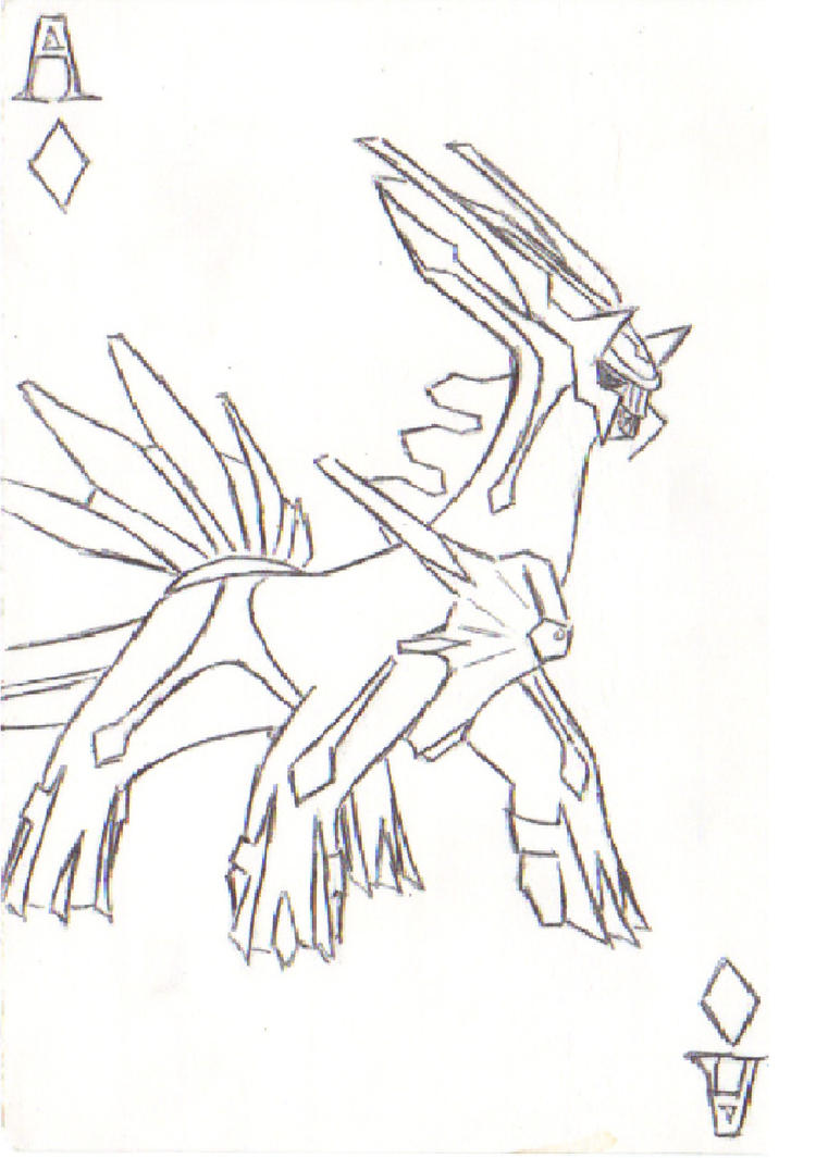 Ace dialga by owlcreme on deviantart for Dialga coloring pages