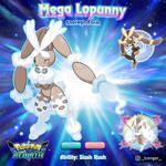 019. Mega Lopunny (Snoregn Form)