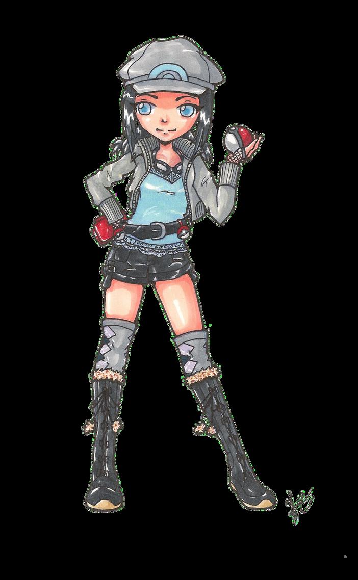 Pokemon Trainer Zeph by Zephyr-Aryn