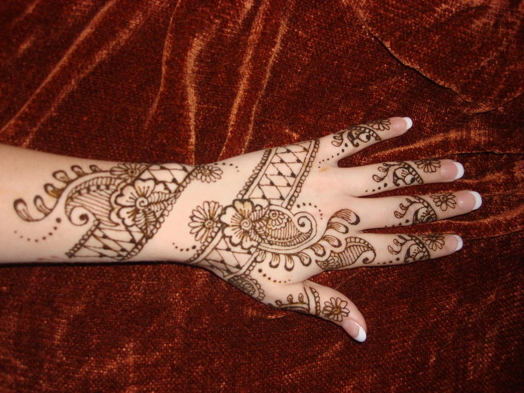 Arabic Mehndi Free Henna Design