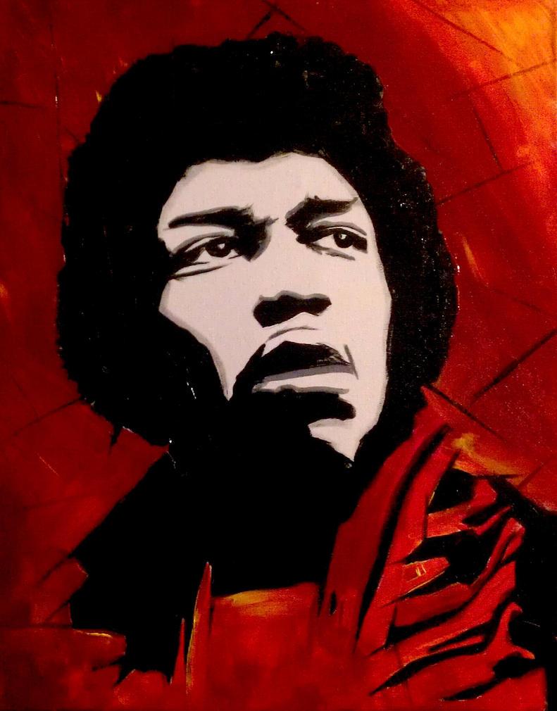 Jimi Hendrix by ASanchezDesigns