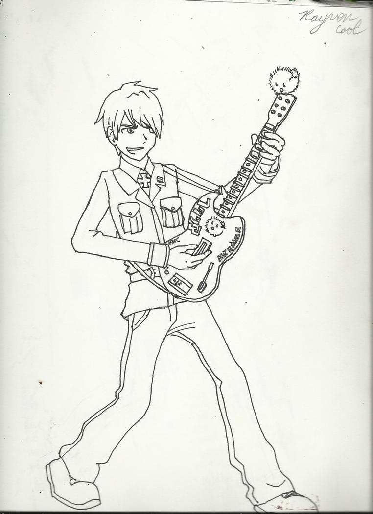 guitar hero printable coloring pages - photo#22