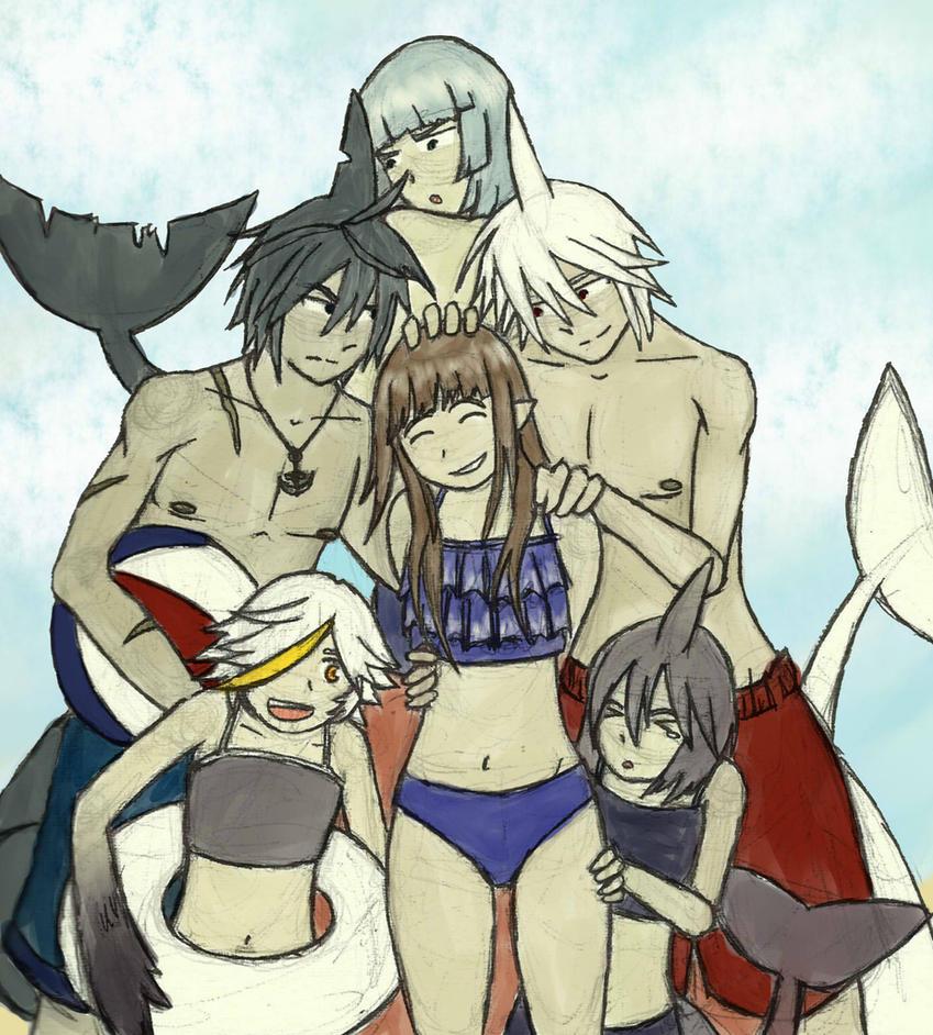 Obligatory Beach Episode by Ginokami6