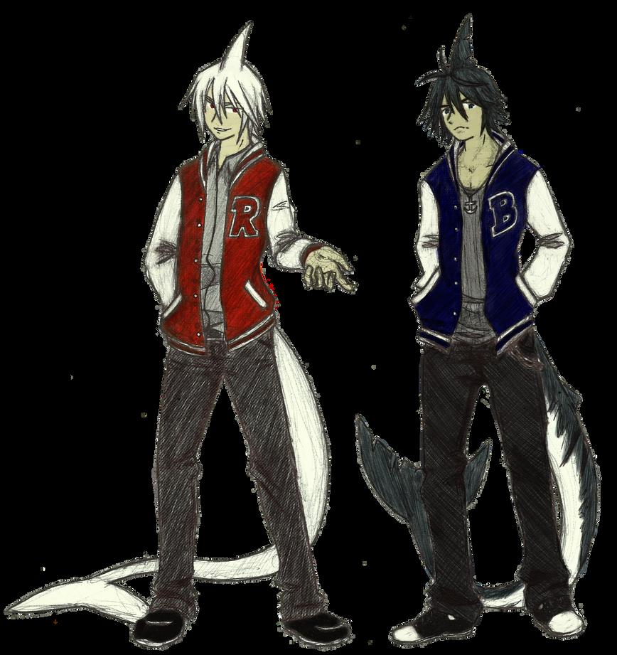 Twins by Ginokami6