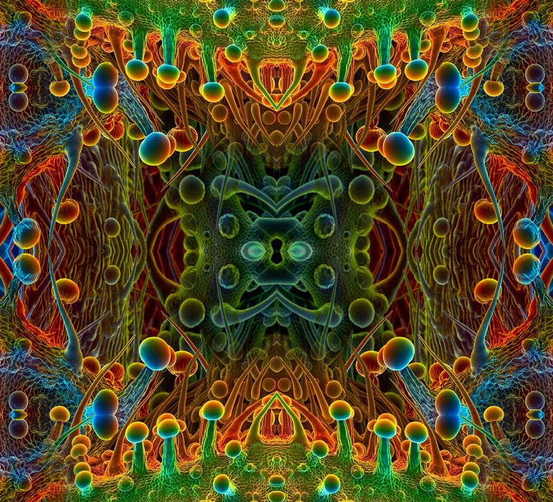 THC Mandala by koalacid