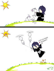 Rukia Takes Flight by shioru-chan