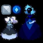 Petalite and Kyanite