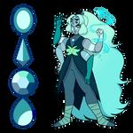 Larimar ( Amethyst/Jasper/Lapis Lazuli/Pearl )