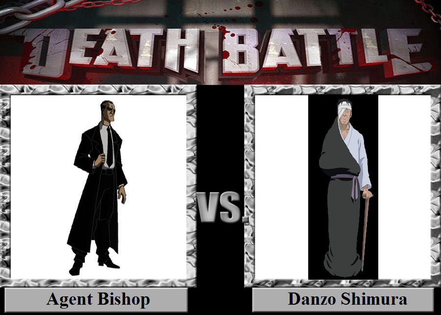 Agent Bishop vs  Danzo Shimura by JasonPictures on DeviantArt