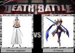 Grimmjow Jaggerjack vs. Jin Kisaragi by JasonPictures