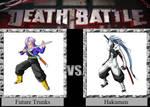 Future Trunks vs. Hakumen