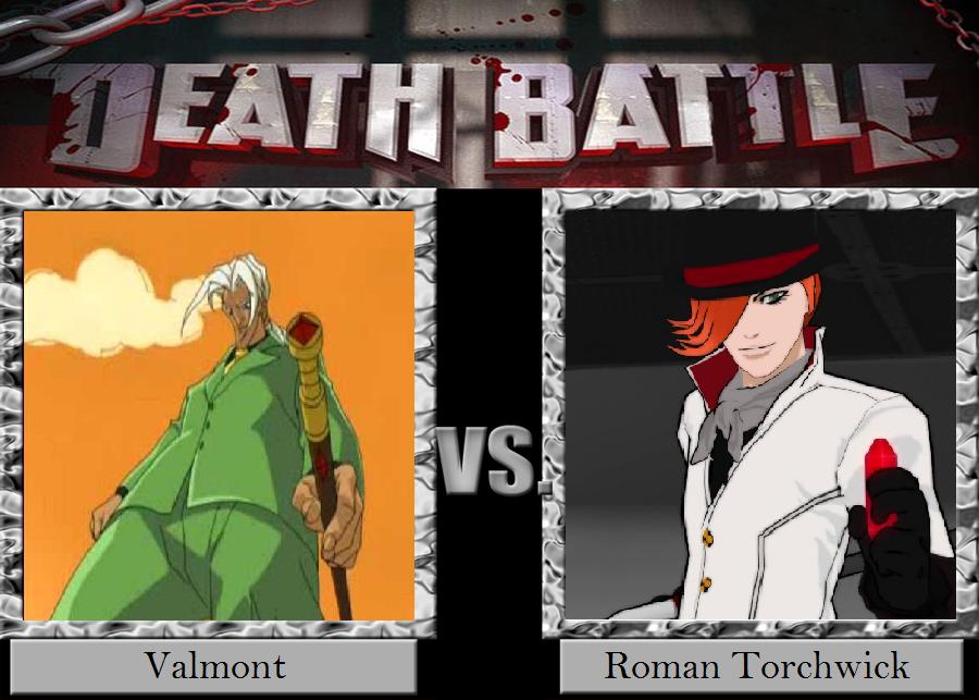 Valmont vs  Roman Torchwick by JasonPictures on DeviantArt