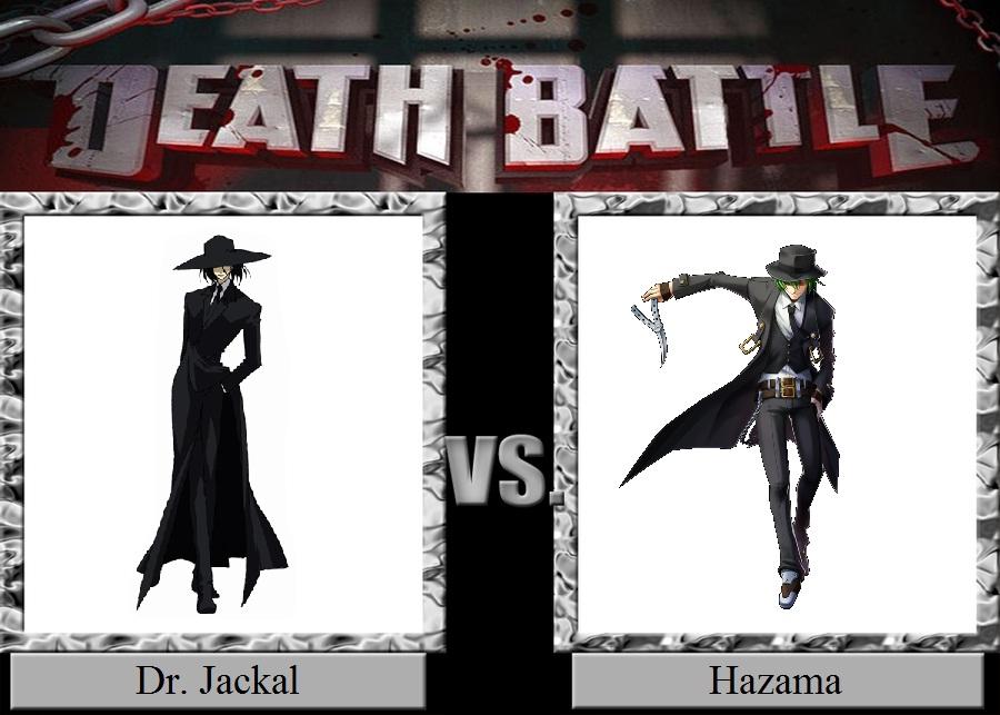Dr. Jackal vs. Hazama by JasonPictures on DeviantArt