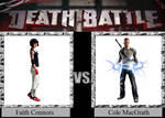 Faith Connors vs. Cole MacGrath