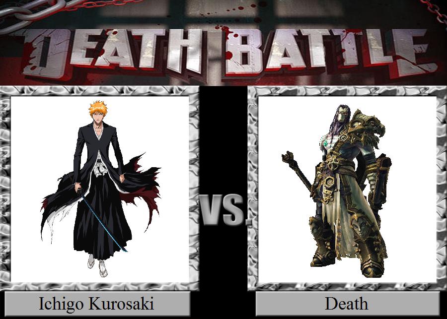 Ichigo Kurosaki vs. Death by JasonPictures on DeviantArt