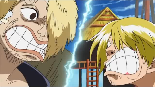 Sanji and Duval's Staring Contest by JasonPictures on ...