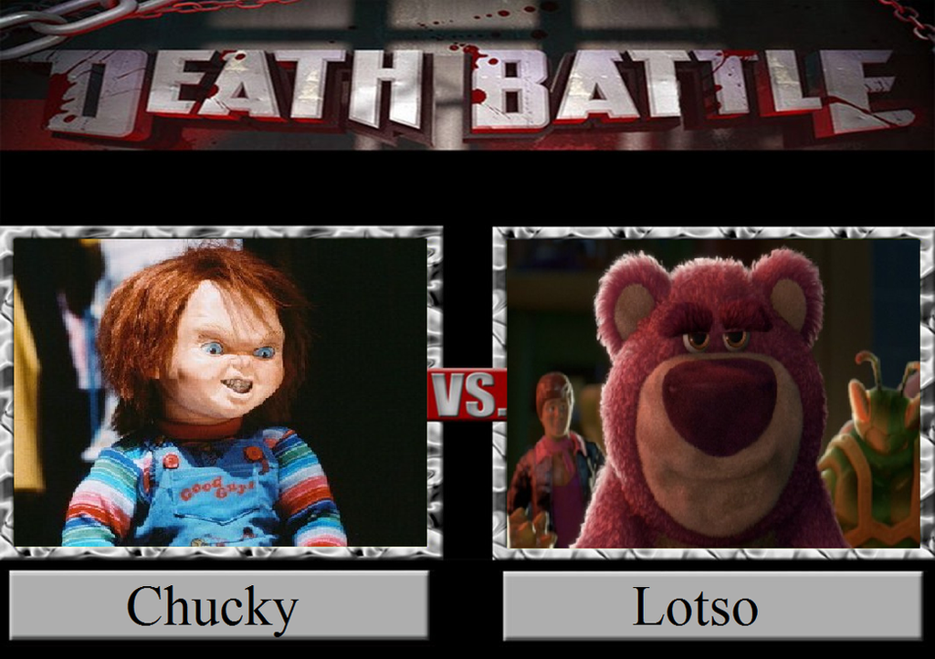 Toy Story 4 Chucky : Chucky vs lotso by jasonpictures on deviantart