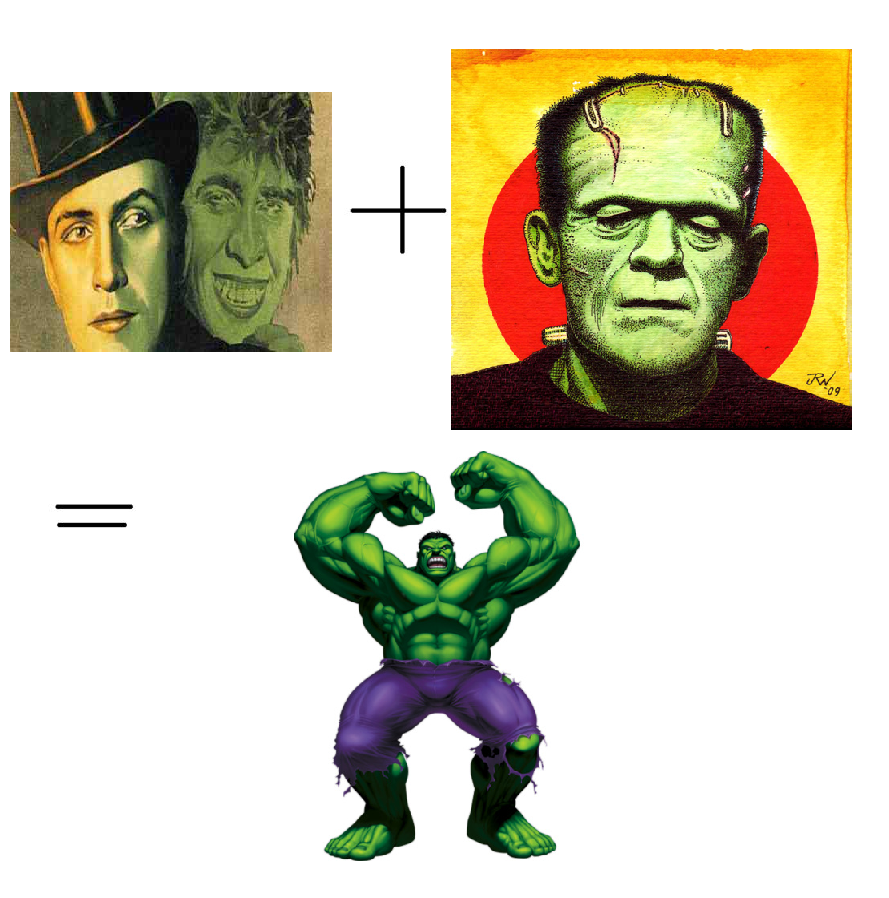 compare and contrast frankenstein and invisible man In the story frankenstein by mary shelley in contrast, when victor sees his and as well as the comparison of frankenstein to the bible.