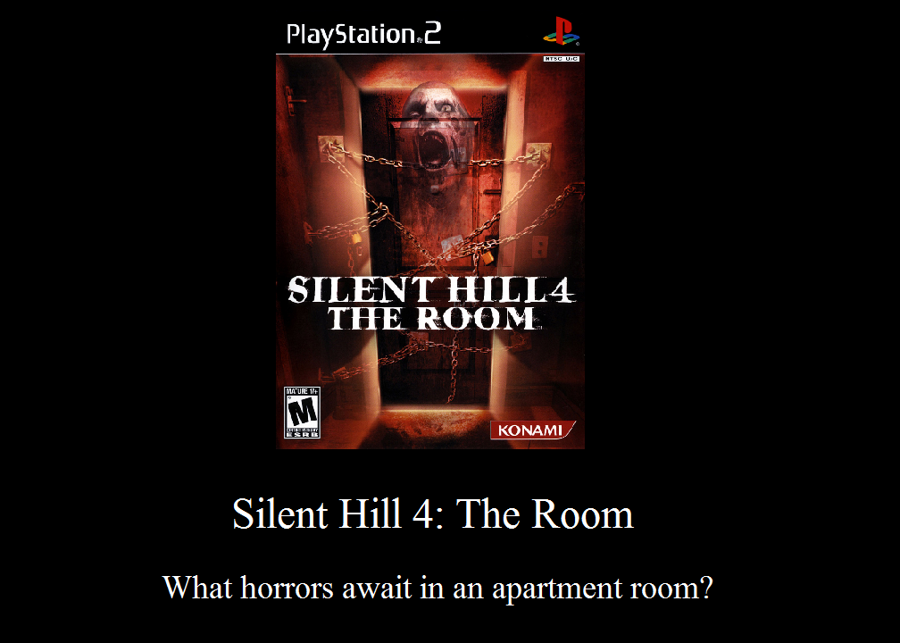 Silent Hill 4 The Room Motivational Poster By Jasonpictures On
