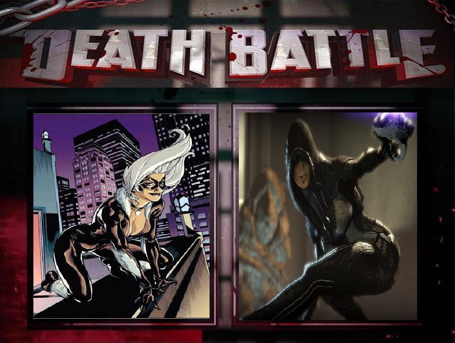 Black Cat vs. Kasumi Goto by JasonPictures