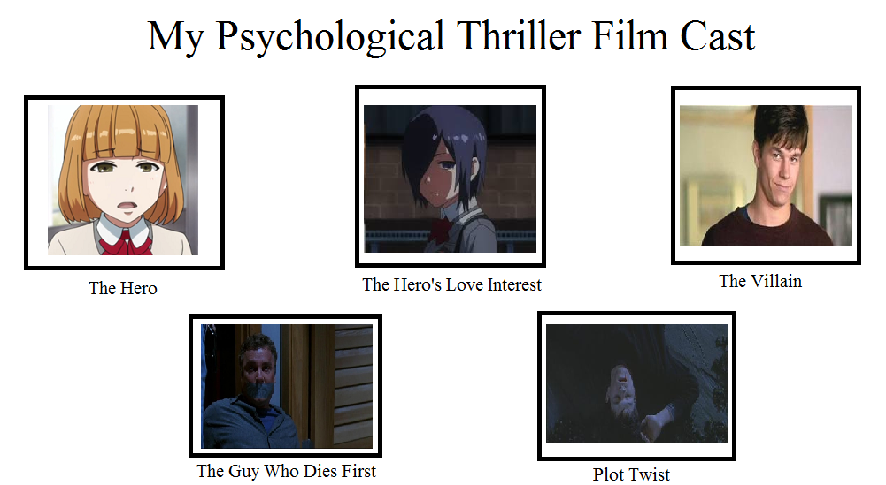 Diferences: Psychological Horror and Horror