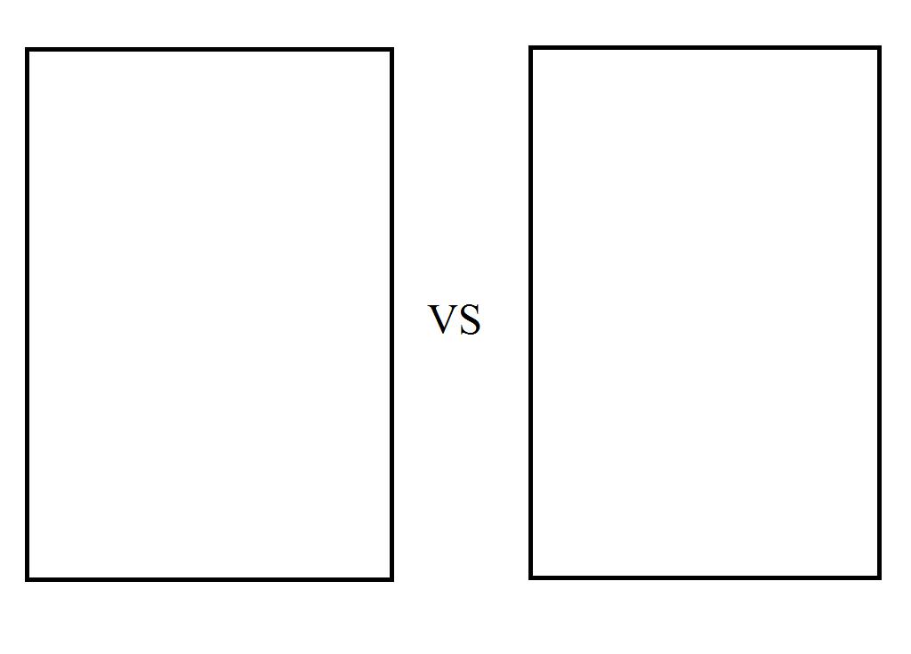 my versus meme template by jasonpictures on deviantart. Black Bedroom Furniture Sets. Home Design Ideas