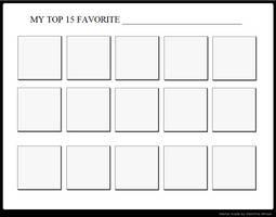 Top 15 Favorite... Meme