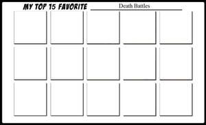 Top 15 Death Battles
