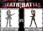 Alicia Melchiott vs. Sabine Wren
