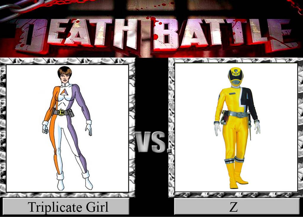 Triplicate Girl vs. Z by JasonPictures