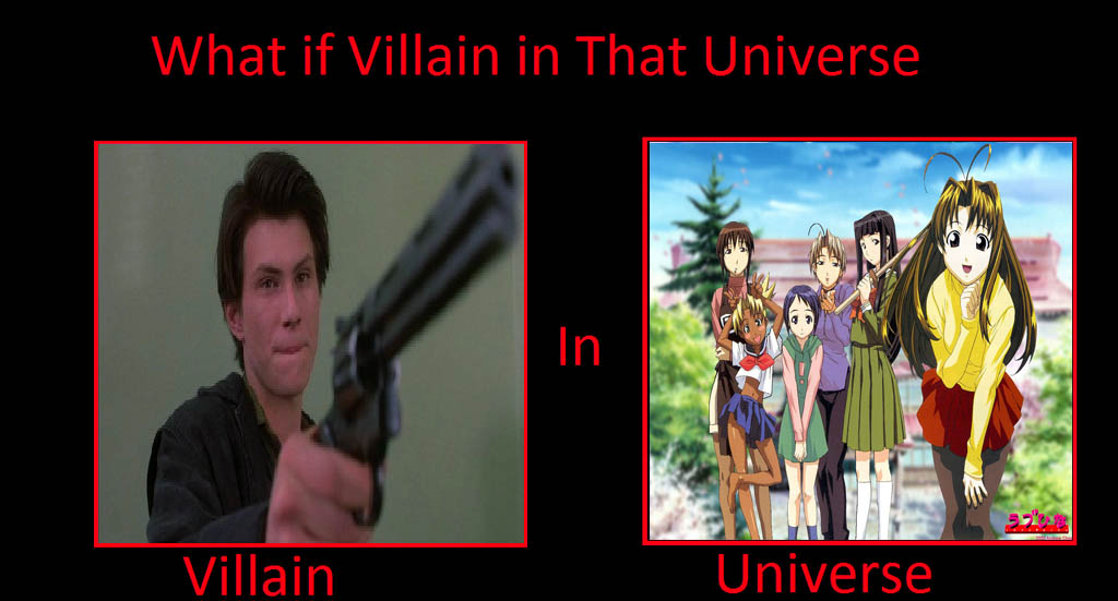 What if JD in Love Hina Universe by JasonPictures