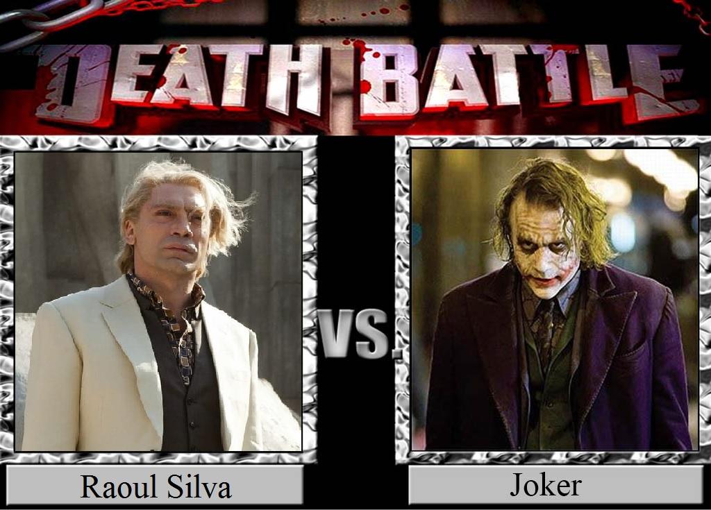 Raoul Silva vs  Joker by JasonPictures on DeviantArt