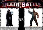Emperor Palpatine vs. Senator Armstrong