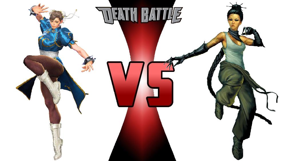 Chun-Li vs. Mei Feng by JasonPictures on DeviantArt