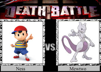Ness vs. Mewtwo by JasonPictures
