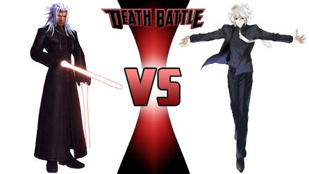 Xemnas vs. Isaac Westcott by JasonPictures