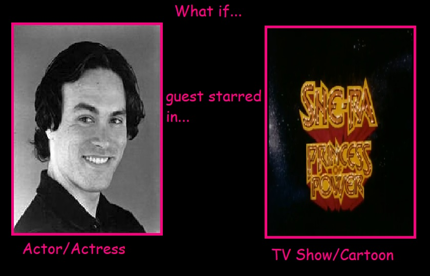 What if Brandon Lee Guest Star in She-Ra by JasonPictures